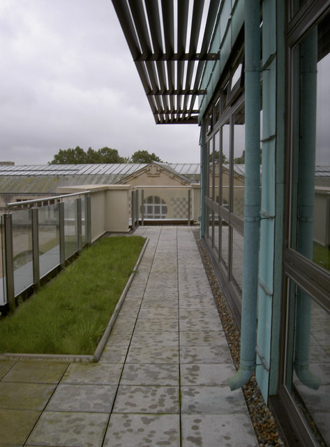 Roof of Horizon House