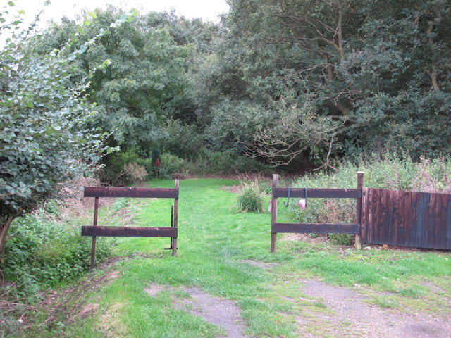 Entrance to Epping Forest from Forest Glade