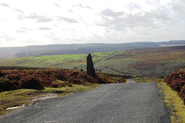 Stone on Wheeldale Moor