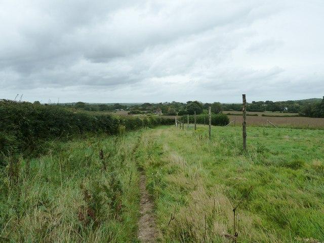 Footpath to East Chiltington