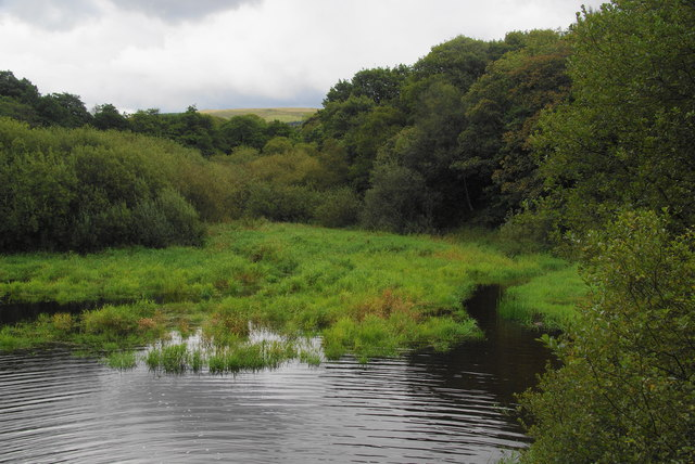 An inlet off Upper Rivington Reservoir