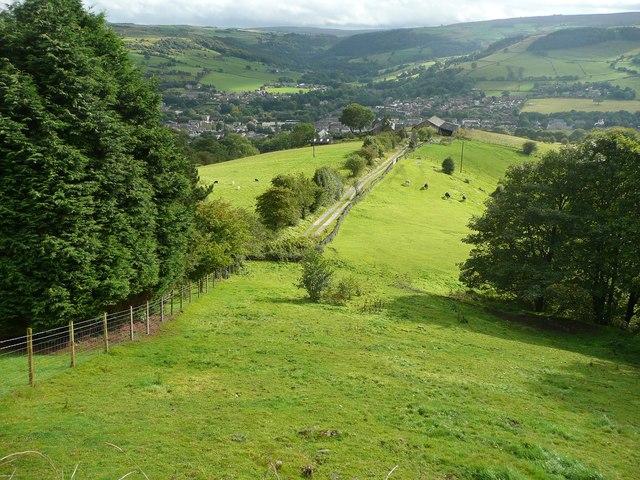 Driveway to Hill House Farm, Mytholmroyd