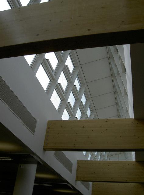 Roof interior of Horizon House