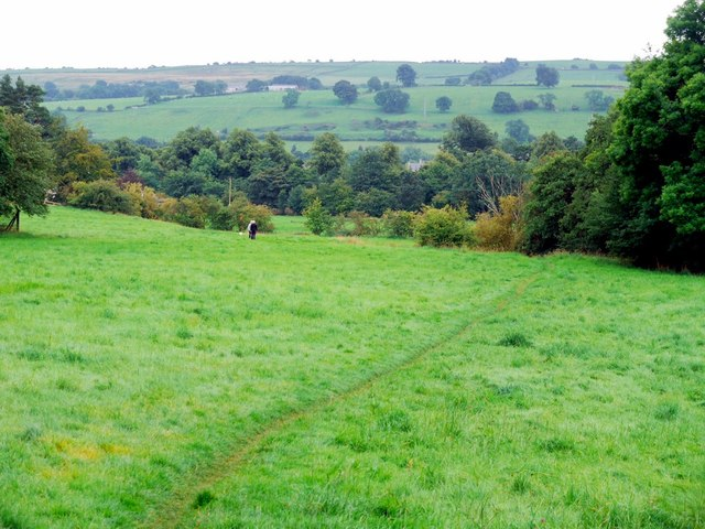 Footpath from Holy Well to Chapel Walls, Wolsingham