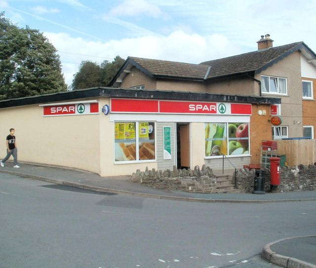 Spar and Pendre Post Office, Brecon
