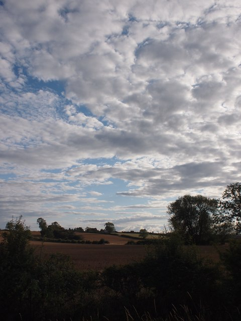 Skies over Fern Hill
