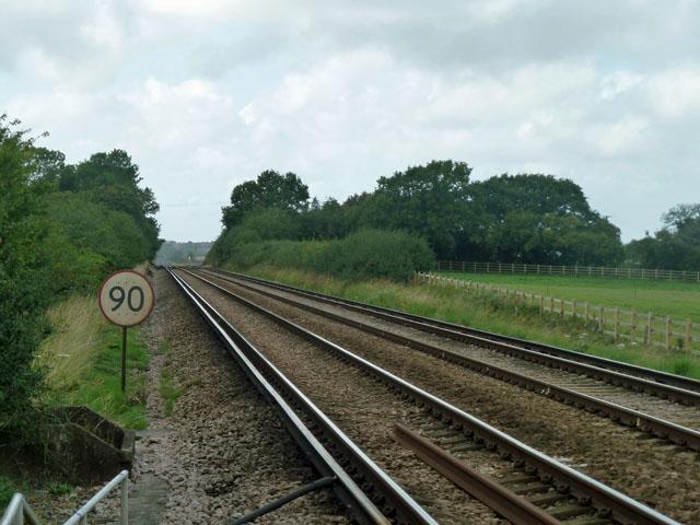 Railway towards Lewes