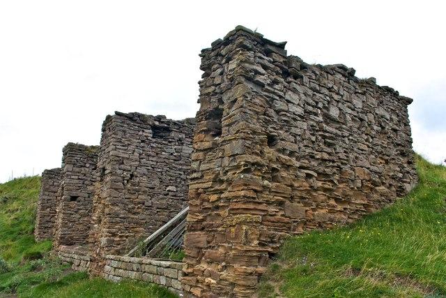 Derelict Coal Bunkers, East Mines, Rosedale Abbey