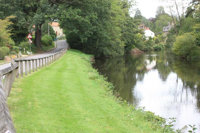 The River Esk, Egton Bridge