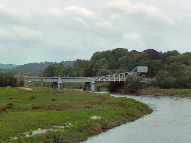 Afon Tywi, Railway Bridge near Carmarthen