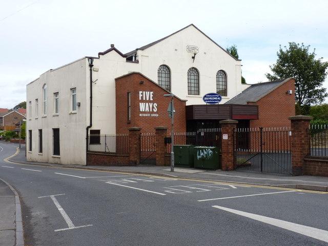 Five Ways Methodist Church, Lower Gornal