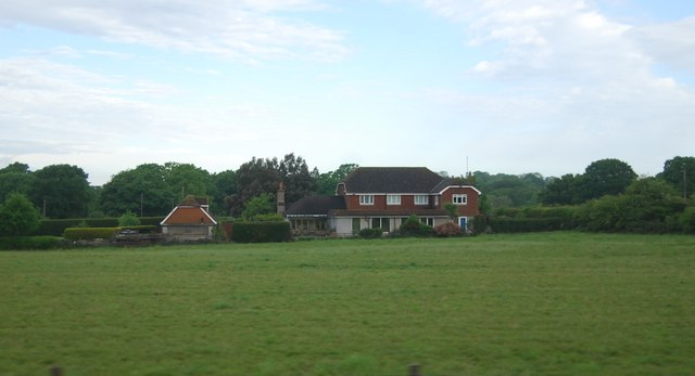 House by the Arun Valley Line