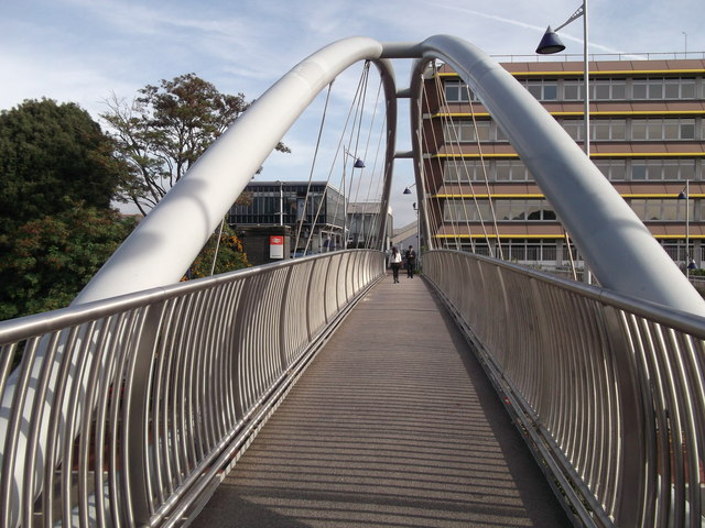 Footbridge to Dartford Railway Station