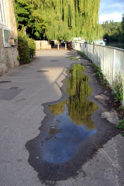 Reflection, Allington Lock, Kent