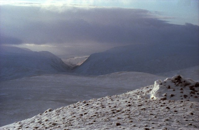 Summit of Geal Charn