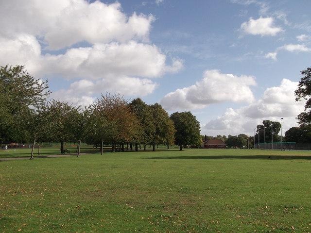 Track in Elham Park South
