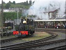SH5738 : Lyd at Porthmadog by Gareth James