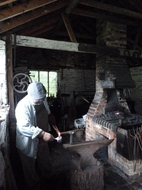 COAM 103: the blacksmith at work