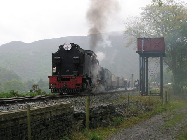 Welsh Highland Railway at Beddgelert