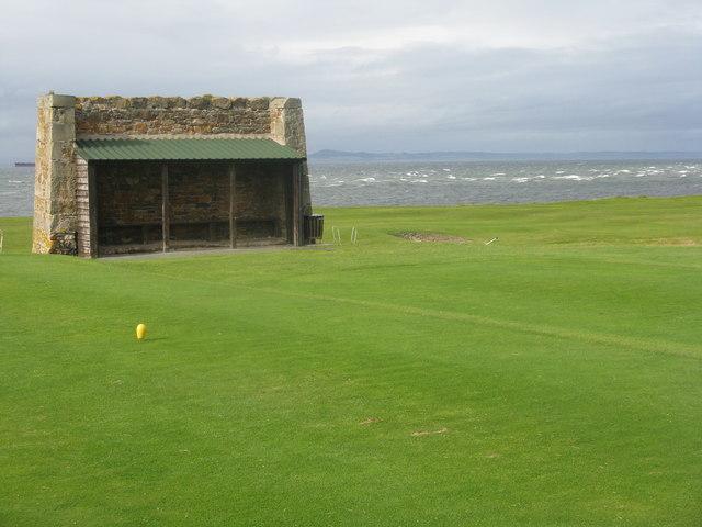 Golfer's Shelter at Kilspindie