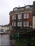 TQ3268 : Prince George pub, Thornton Heath High Street: the Grange Road frontage by Christopher Hilton