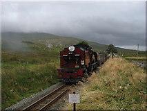 SH5752 : Welsh Highland Railway near Rhyd Ddu by Gareth James