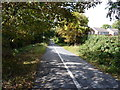 SJ5010 : The former railway line into Shrewsbury by Richard Law