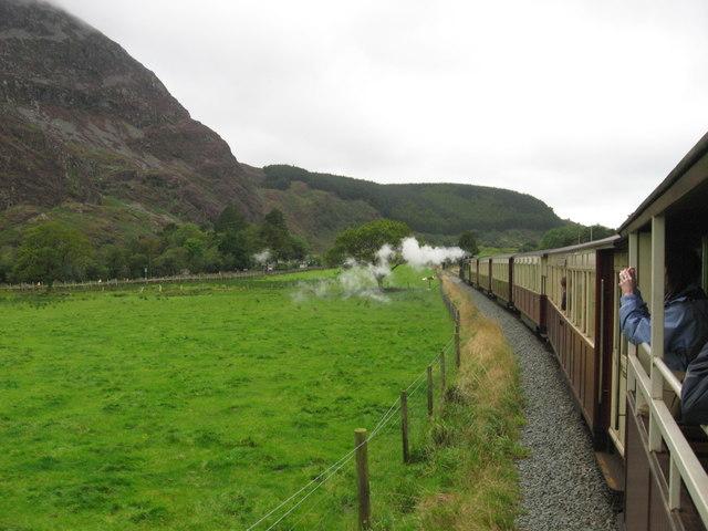 Welsh Highland Railway in Nant y Betws