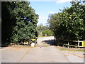 TM2950 : The Entrance to the Wilford Bridge Fishing Lakes by Adrian Cable