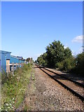 TM2850 : Railway Line to Melton Station by Adrian Cable