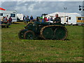SU3435 : Longstock - Vintage Tractor by Chris Talbot