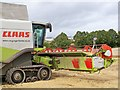 NT8655 : Claas Lexion 580+ Terra Trac Combine Harvester by James T M Towill
