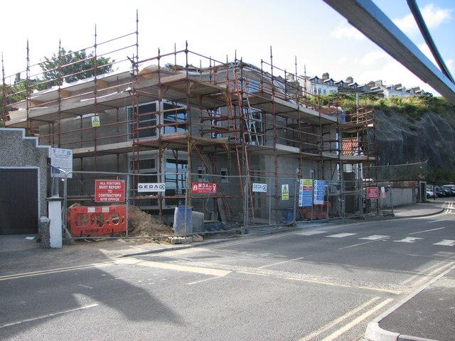 Ballycastle Marine services building