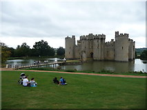 TQ7825 : The National Trust's Bodiam Castle by Jeremy Bolwell