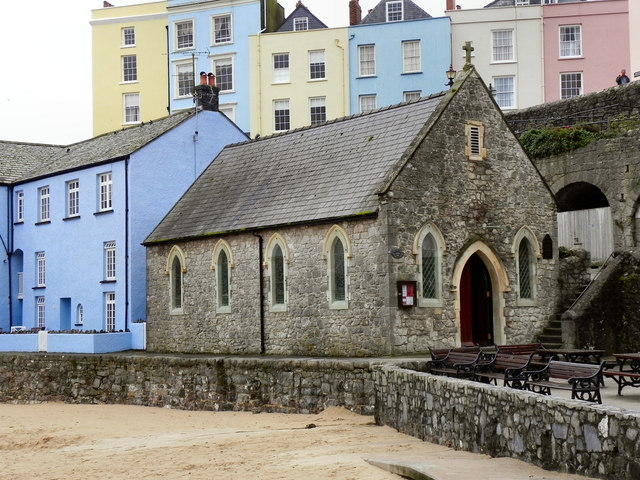 St Julian's Church, Tenby Harbour