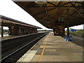 SP1184 : Tyseley station's platforms by Peter Whatley