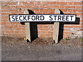 TM2649 : Seckford Street sign by Adrian Cable