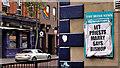 "J3374 : ""Irish News"" poster, Belfast by Albert Bridge"