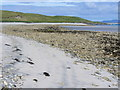 NF8278 : Beach East of Udal by Colin Smith