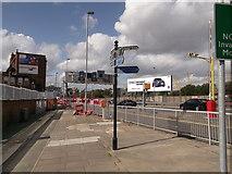 TQ3979 : Thames Path on Tunnel Avenue by David Anstiss
