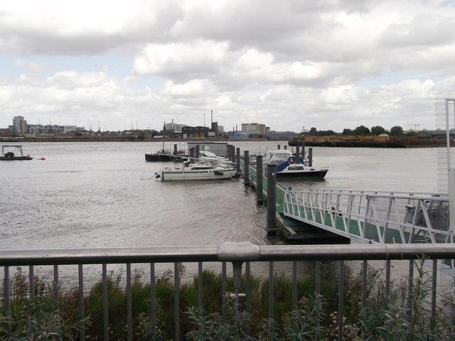 Bugsby's Reach Pier, North Greenwich