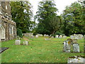 SP9832 : Church End- St. John the Baptist, Eversholt: graveyard (e) by Basher Eyre