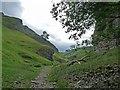 SK1582 : Cave Dale, Castleton by Robin Drayton