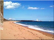 TR3140 : Dover, Western Heights Beach by Raimund Zozmann