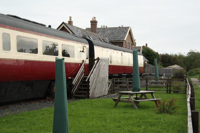Hawsker Station by Richard Croft