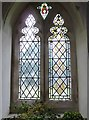 SP9019 : St Mary the Virgin Mentmore- stained glass window (2) by Basher Eyre