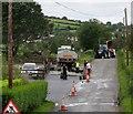J1525 : Traffic delay on Tamnaharry Hill by Eric Jones