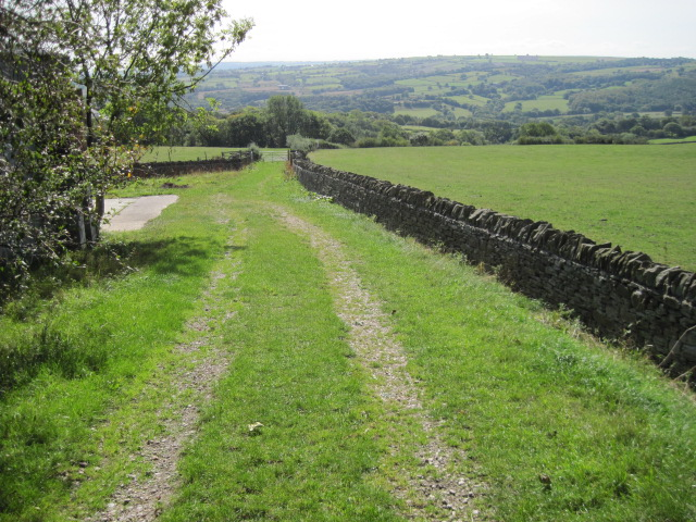 Footpath from Holmesfield towards Millthorpe