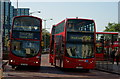 TQ3265 : London Buses in Croydon by Peter Trimming