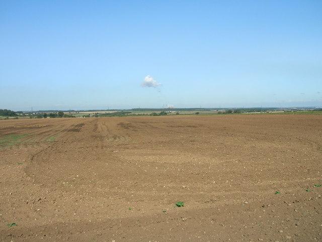 Farmland off Whiteley Road
